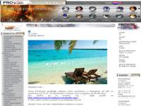 Frontpage screenshot for site: Provox d.o.o. (http://www.provox.hr/audio/pocetna.aspx)