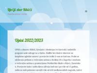 Frontpage screenshot for site: Dječji zbor Kikići (http://www.kikici.hr)