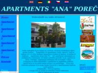 Frontpage screenshot for site: Apartmani u Poreču (http://free-pu.htnet.hr/luco/)