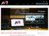 Slika naslovnice sjedišta: Avr d.o.o. (http://www.avr.hr/)