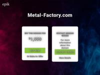 Slika naslovnice sjedišta: Metalna galanterija Potokar (http://www.metal-factory.com)
