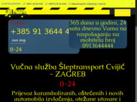 Slika naslovnice sjedišta: Šleptransport (http://www.sleptransport.hr)