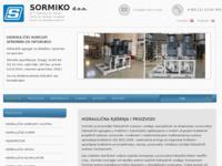 Frontpage screenshot for site: Sormiko d.o.o. , hidraulika (http://www.sormiko.hr/)