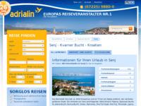 Slika naslovnice sjedišta: Senj (http://www.kroatien-adrialin.de/ortsinfos/senj/)