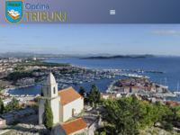 Slika naslovnice sjedišta: Općina Tribunj online (http://www.tribunj.hr)