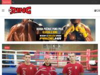 Slika naslovnice sjedišta: Croring - časopis i internet portal za borilačke športove i fitness (http://www.croring.com)