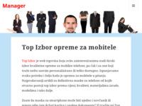 Slika naslovnice sjedišta: Manager (http://www.manager.com.hr/)
