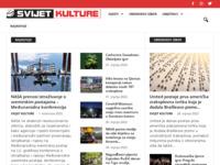 Frontpage screenshot for site: Svijet kulture (http://www.svijetkulture.com)
