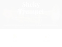 Frontpage screenshot for site: shekytrumpet (http://shekytrumpet.com)