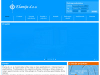 Slika naslovnice sjedišta: Elanija d.o.o. Split (http://www.elanija.hr)