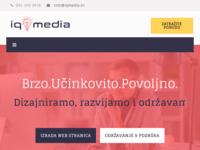 Slika naslovnice sjedišta: Iqmedia - web design & hosting (http://www.iqmedia.hr)
