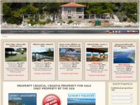 Frontpage screenshot for site: Prvo mjesto za velike nekretnine u Hrvatskoj (http://www.croatiaproperty.org/)