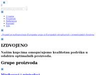Slika naslovnice sjedišta: Trgovina hotelskom i ugostiteljskom opremom (http://www.ivago.hr)