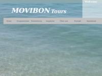 Frontpage screenshot for site: Movibon tours (http://www.movibon.hr)