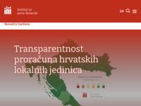 Slika naslovnice sjedišta: Institut za javne financije (http://www.ijf.hr)