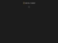 Frontpage screenshot for site: Hotel Turist, Varaždin (http://www.hotel-turist.hr/)