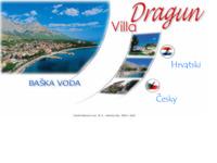 Frontpage screenshot for site: Apartmani Dragun - Baška Voda (http://free-st.htnet.hr/dragun/)