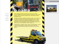 Slika naslovnice sjedišta: Vučna služba DG MOBIL (http://www.dgmobil.hr/)