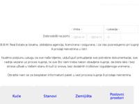 Frontpage screenshot for site: Nekretnine Medulin (http://www.bbm-agencija.com)
