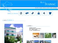Frontpage screenshot for site: Brela-Pansion Ivanac (http://www.inet.hr/~tivanac/)