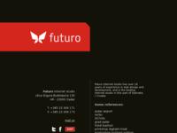 Slika naslovnice sjedišta: Futuro - internet studio Zadar (http://www.futuro.hr/)