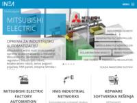 Slika naslovnice sjedišta: Inea CR - Informacijske tehnologije (http://www.inea.hr)