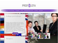 Frontpage screenshot for site: Profiglota d.o.o. (http://www.profiglota.hr)
