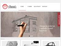 Frontpage screenshot for site: PVC hidroizolacije (http://www.berac.hr/)