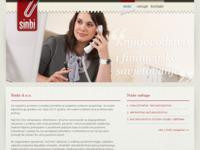 Frontpage screenshot for site: (http://www.sinbi.hr/)