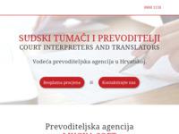 Frontpage screenshot for site: Lingua-soft d.o.o. (http://www.lingua-soft.hr/)