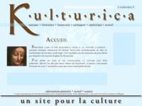 Frontpage screenshot for site: Kulturica.com (http://www.kulturica.com)