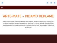 Slika naslovnice sjedišta: Ante - Mate d.o.o (http://www.ante-mate.hr)