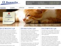 Slika naslovnice sjedišta: Sanatio d.o.o. (http://www.sanatio.hr)