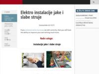 Frontpage screenshot for site: Rio - Zagreb (http://www.rio.hr)