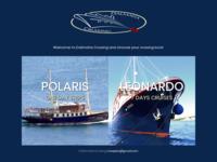 Frontpage screenshot for site: Krstarenje na jedrenjaku Sretan (http://www.sretan.hr/)