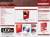 Frontpage screenshot for site: Zgombić & Partneri - nakladništvo i informatika d.o.o. (http://www.fzplus.hr)