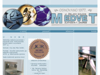 Slika naslovnice sjedišta: Medvet - obrt (http://www.medvet.hr)