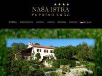 Frontpage screenshot for site: Ruralna kuća Naša Istra (http://www.nasa-istra.com)