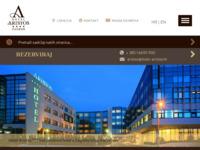 Frontpage screenshot for site: Hotel Aristos (http://www.hotel-aristos.hr/)
