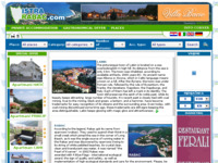 Frontpage screenshot for site: Turist portal istra-rabac.com (http://www.istra-rabac.com)