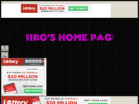 Frontpage screenshot for site: Mirina osobna stranica (http://mirolukic.tripod.com/)