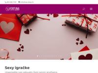 Frontpage screenshot for site: Sex shop Fortuna (http://www.sex-shop.hr)