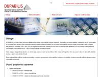 Slika naslovnice sjedišta: Durabilis d.o.o. (http://www.durabilis.hr)