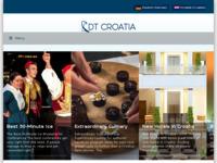 Frontpage screenshot for site: DBS Travel (http://www.dubrovniktravel.com)
