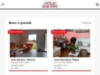 Frontpage screenshot for site: Q-tim nekretnine (http://www.qtim.hr/)