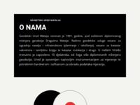 Frontpage screenshot for site: Geodet Mataija (http://www.geodet-mataija.hr/)