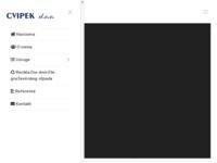 Slika naslovnice sjedišta: Cvipek d.o.o. (http://www.cvipek.hr/)
