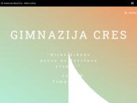 Slika naslovnice sjedišta: Gimnazija Cres (http://www.gimnazija-cres.hr)
