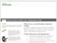 Slika naslovnice sjedišta: Filtan d.o.o. (http://www.filtan.hr/)