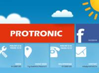 Frontpage screenshot for site: Protronic računala, Ivanić Grad (http://www.protronic.hr)